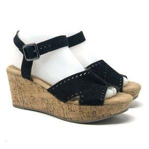 Pesaro Women's ELLIE Wedge Open Toe Sandals Size 8